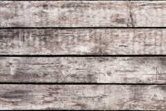 Free Wooden Background With Old Shabby Vintage Boards. Grey Wood Wall Of Horizontal Boards. Stock Images - 116900044
