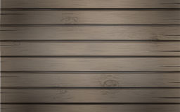 Wooden background with wood texture planks, backdrop template for your design, banner, poster or greeting card. Easy to edit, layers are , vector illustration Royalty Free Stock Image
