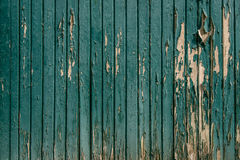 Wooden background with worn paint Royalty Free Stock Photo