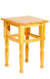 Wooden backless stool Stock Image