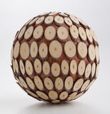 Wooden Ball Royalty Free Stock Image