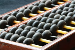 Wooden ball of abacus Stock Photography