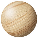 Wooden ball Royalty Free Stock Photos