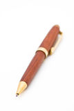 A wooden ballpoint pen Stock Photos