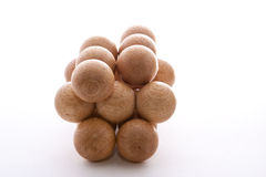 Wooden Balls Stock Image