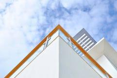 Wooden balustrade Stock Image