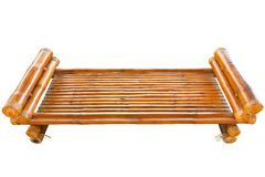 Wooden bamboo chair Royalty Free Stock Photography