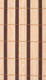 Wooden bamboo mat background Royalty Free Stock Photo