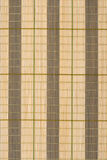 Wooden bamboo mat background Stock Photos