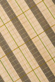 Wooden bamboo mat background Royalty Free Stock Image