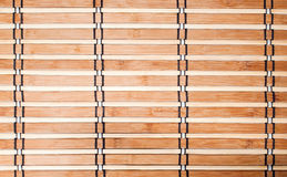 Wooden bamboo napkin Royalty Free Stock Photography