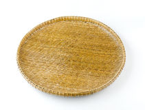 Wooden Bamboo tray Stock Photos