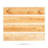 Wooden Banner isolated. Vector Royalty Free Stock Photography
