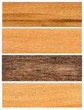 Wooden banners set Royalty Free Stock Photo