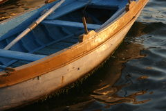 Wooden barge Royalty Free Stock Photos