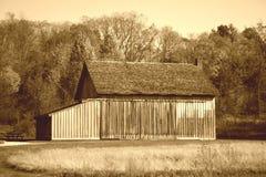 Wooden Barn Stock Image