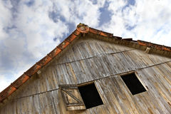 Wooden barn Royalty Free Stock Photos