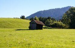Wooden barn. In the black forest, Germany Royalty Free Stock Photography