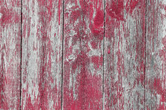 Wooden Barn Board. Old wooden barn board with distressed blue paint Royalty Free Stock Images