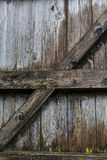 Wooden Barn Door, English Lake District, Cumbria, England. Stock Photo