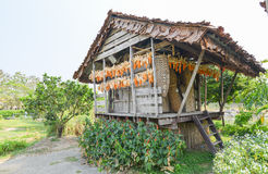 Wooden barn for keep Agricultural product Royalty Free Stock Image