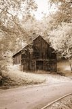 Wooden barn Stock Photography