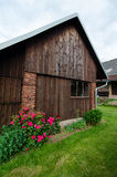 Wooden barn Stock Image