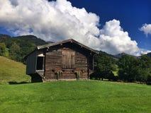 Wooden barn Royalty Free Stock Photo