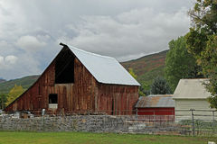 Wooden barn Royalty Free Stock Photo