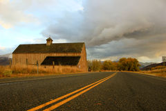 Wooden barn Royalty Free Stock Images