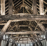 Wooden Barn Structure Stock Photography