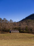 Wooden barn tennessee Royalty Free Stock Photo