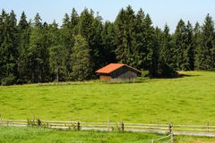 Wooden barn. In the black forest, Germany Royalty Free Stock Image