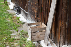 A Wooden barn Royalty Free Stock Photography