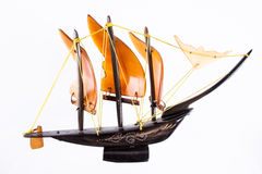 Wooden Barque Royalty Free Stock Image