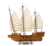 Wooden barque Stock Photography