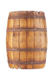 Wooden barrel. Isolated on white background royalty free stock images