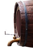 Wooden barrel Stock Images