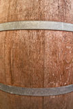Wooden barrel backgroung Royalty Free Stock Image