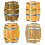 Wooden barrel of Stock Photo
