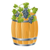 Wooden barrel of Stock Images