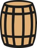 Wooden Barrel icon. Vector icon vector illustration