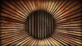 Wooden barrel. Inside of empty wooden barrel royalty free stock photo