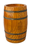 Wooden barrel Stock Photo