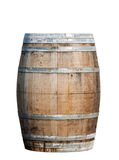 Wooden barrel  isolated on white background Royalty Free Stock Photography
