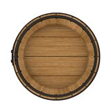 Wooden Barrel Isolated Stock Photos