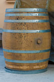 Wooden barrel. Royalty Free Stock Image
