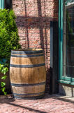 Wooden Barrel Royalty Free Stock Photography