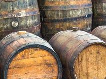 Wooden Barrels Stock Photos