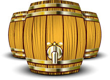 Wooden Barrels Stock Photos